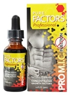 Pure Solutions - Pure Factors Professional Pro M.I.C Concentrated Growth Factors From Deer Velvet Antler Extract - 1 oz.