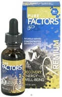 Image of Pure Solutions - Pure Factors Premium Concentrated Growth Factors from Deer Velvet Antler Extract 36 mg. - 1 oz.