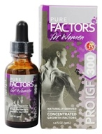 Image of Pure Solutions - Pure Factors For Women Pro IGF 300 with Deer Velvet Antler Extract - 1 oz.