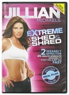 Gaiam - Jillian Michaels Extreme Shed and Shred DVD