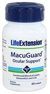 Life Extension - MacuGuard Ocular Support - 60 Softgels - $16.50