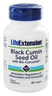 Life Extension - Black Cumin Seed Oil with Bio-Curcumin - 60 Softgels by Life Extension
