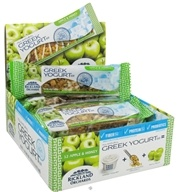 Rickland Orchards - All Natural Greek Yogurt Coated Bar Apple & Honey - 1.41 oz. (858411003031)