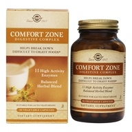 Solgar - Comfort Zone Digestive Complex - 90 Vegetarian Capsules, from category: Nutritional Supplements
