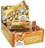 Image of Rickland Orchards - All Natural Greek Yogurt Coated Bar Peanut Butter - 1.41 oz.