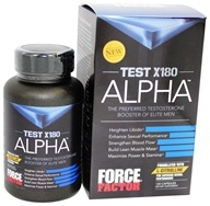 Force Factor - Test X180 Alpha - 120 Capsules (818594010349)