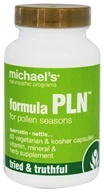 Michael's Naturopathic Programs - Formula PLN for Pollen Seasons - 60 Vegetarian Capsules, from category: Nutritional Supplements