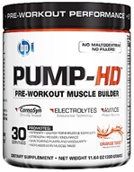 BPI Sports - Pump-HD Pre-Workout Muscle Builder Orange Twist - 30 Servings - 11.64 oz., from category: Sports Nutrition