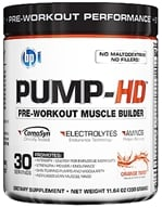 Image of BPI Sports - Pump-HD Pre-Workout Muscle Builder Orange Twist - 30 Servings - 11.64 oz.