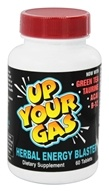Image of Hot Stuff Nutritionals - Up Your Gas Herbal Energy Blaster - 60 Tablets