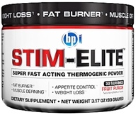 BPI Sports - Stim-Elite Super Fast Acting Thermogenic Powder Fruit Punch - 30 Servings - 3.17 oz.