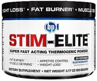 BPI Sports - Stim-Elite Super Fast Acting Thermogenic Powder Blue Raspberry - 30 Servings - 3.17 oz.