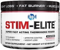 BPI Sports - Stim-Elite Super Fast Acting Thermogenic Powder Watermelon - 30 Servings - 3.17 oz. by BPI Sports
