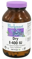 Bluebonnet Nutrition - Dry E 400 IU - 250 Vegetarian Capsules by Bluebonnet Nutrition