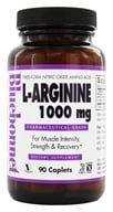 Image of Bluebonnet Nutrition - L-Arginine 1000 mg. - 90 Caplets