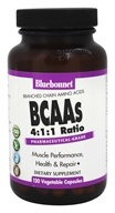 Image of Bluebonnet Nutrition - BCAAs - 120 Vegetarian Capsules