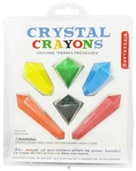 Kikkerland - Crystal Crayons - 6 Pack CLEARANCE PRICED (612615050075)