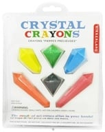 Kikkerland - Crystal Crayons - 6 Pack CLEARANCE PRICED
