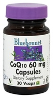 Bluebonnet Nutrition - CoQ10 60 mg. - 30 Vegetarian Capsules (743715008168)