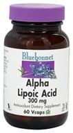 Bluebonnet Nutrition - Alpha Lipoic Acid 300 mg. - 60 Vegetarian Capsules, from category: Nutritional Supplements