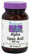 Bluebonnet Nutrition - Alpha Lipoic Acid 300 mg. - 60 Vegetarian Capsules by Bluebonnet Nutrition
