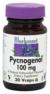 Image of Bluebonnet Nutrition - Pycnogenol 100 mg. - 30 Vegetarian Capsules