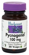 Bluebonnet Nutrition - Pycnogenol 100 mg. - 30 Vegetarian Capsules by Bluebonnet Nutrition