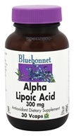 Bluebonnet Nutrition - Alpha Lipoic Acid 300 mg. - 30 Vegetarian Capsules