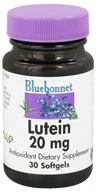 Bluebonnet Nutrition - Lutein 20 mg. - 30 Softgels CLEARANCE PRICED