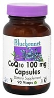 Bluebonnet Nutrition - CoQ10 100 mg. - 90 Vegetarian Capsules