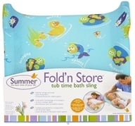 Image of Summer Infant - Tub Time Fold 'n Store Bath Sling - CLEARANCE PRICED