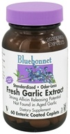 Bluebonnet Nutrition - Fresh Garlic Extract - 60 Vegetarian Caplet(s), from category: Herbs