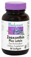 Bluebonnet Nutrition - Zeaxanthin Plus Lutein - 30 Softgels - $11.96