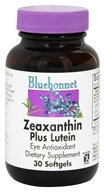 Image of Bluebonnet Nutrition - Zeaxanthin Plus Lutein - 30 Softgels