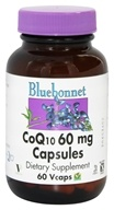 Bluebonnet Nutrition - CoQ10 60 mg. - 60 Vegetarian Capsules - $17.56
