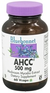 Bluebonnet Nutrition - AHCC 500 mg. - 60 Vegetarian Capsules