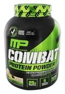 Muscle Pharm - Combat Advanced Time Release Protein Powder Vanilla - 4 lbs.