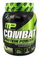 Muscle Pharm - Combat Advanced Time Release Protein Powder Vanilla - 2 lbs., from category: Sports Nutrition