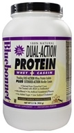 Bluebonnet Nutrition - Dual-Action Protein Whey + Casein Natural French Vanilla Flavor - 2.1 lbs., from category: Sports Nutrition