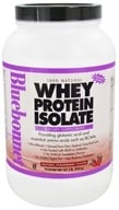 Bluebonnet Nutrition - Whey Protein Isolate Natural Strawberry Flavor - 2 lbs. (743715015739)