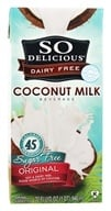 Image of So Delicious - Dairy Free Coconut Milk Sugar Free Beverage Original - 32 oz.