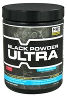 Image of MRI: Medical Research Institute - Black Powder Ultra Pre-Workout Amplifier 40 Servings Blue Raspberry - 240 Grams