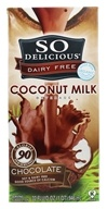So Delicious - Dairy Free Coconut Milk Beverage Chocolate - 32 oz., from category: Health Foods