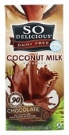 So Delicious - Dairy Free Coconut Milk Beverage Chocolate - 32 oz. by So Delicious