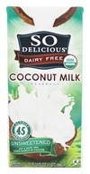 So Delicious - Dairy Free Coconut Milk Beverage Unsweetened - 32 fl. oz.
