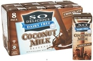 So Delicious - Dairy Free Coconut Milk Beverage Chocolate - 8 Pack (744473913534)
