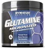 Dymatize Nutrition - Glutamine Micronized 100% Pure Pharmaceutical Grade 4500 mg. - 300 Grams by Dymatize Nutrition
