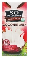 So Delicious - Dairy Free Coconut Milk Beverage Original - 32 oz., from category: Health Foods