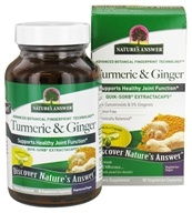 Nature's Answer - Turmeric and Ginger Extractacaps - 90 Vegetarian Capsules, from category: Nutritional Supplements