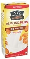 So Delicious - Dairy Free Almond Milk Plus Original - 32 oz. (744473912506)
